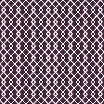 Eggplant Purple Diamond Pattern by Ross