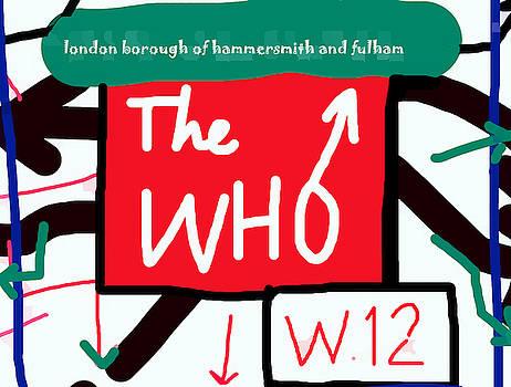 Enki Art - The Who Shepherds Bush poster