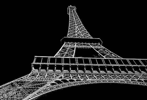 Eiffel Abstract 2 by Jeff Watts