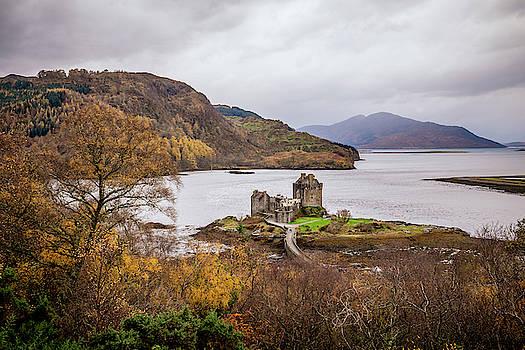 Eilean Donan Castle - Autumn's Touch by John Frid