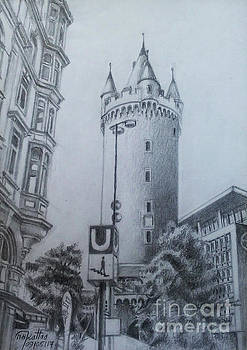 Eishenheim Gate and Tower - Frankfurt by Mohammad Hayssam Kattaa