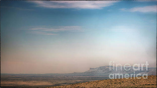 Natural Abstract Photography - Guadalupe Mountains From A Distance