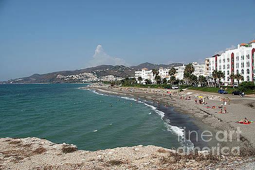 El Chucho beach and Hotel Perla Marina by John Edwards
