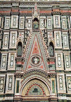 Wayne Moran - el Duomo The Florence Italy Cathedral Arch Details