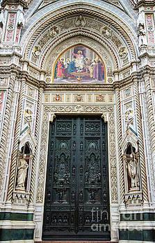 Wayne Moran - el Duomo The Florence Italy Cathedral Main Door