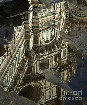 Wayne Moran - el Duomo The Florence Italy Cathedral Reflections