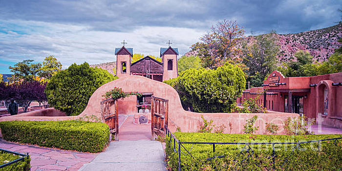 El Santuario de Chimayo - Rio Arriba Santa Fe County - New Mexico Land of Enchantment by Silvio Ligutti