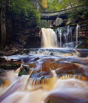 Elakala Falls by Dennis Sprinkle