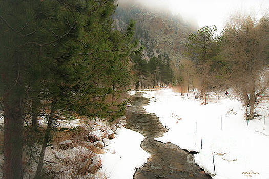 Eldorado Canyon State Park Colorado by Veronica Batterson