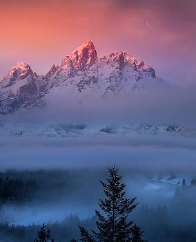 Electic Sunrise / Grand Teton National Park  by Nicholas Parker