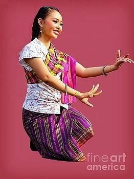 Elegant Dancer Of Northeast Thailand by Ian Gledhill