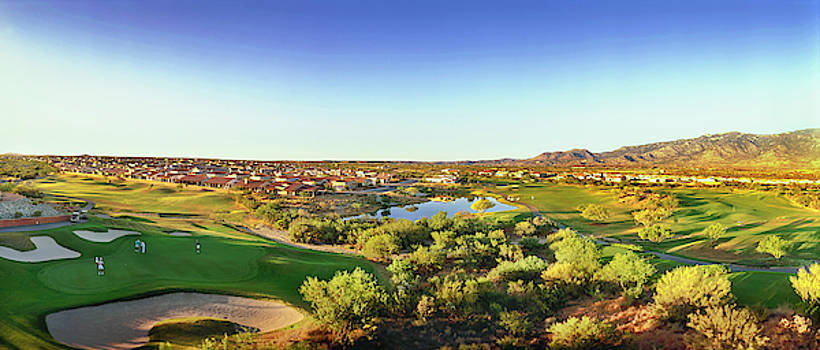 Elevated View Of Golf Course, Sun City by Panoramic Images