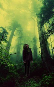 Elf in Forest by Emily Warren