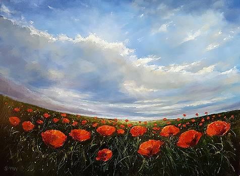 Elysian Poppyfield by Robert Shaw