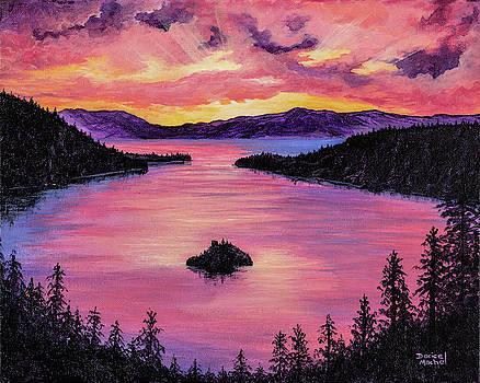 Darice Machel McGuire - Emerald Bay Sunset