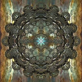 Emerald Space Mandala by Grant Osborne