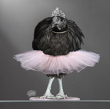 Emmie the Chicken in a Tutu by Dorothy Roberts-Johnston