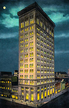 Empire Building - Vintage Birmingham Alabama by Mark Tisdale
