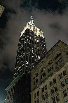 Sharon Popek - Empire State Building Looking Up