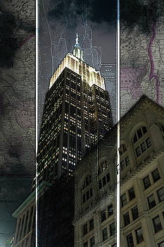 Sharon Popek - Empire State Building Map