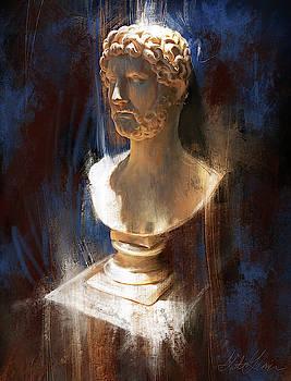 Emporer Hadrian  by Garth Glazier