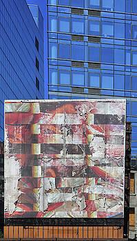 Empty Billboard New York City by Dave Mills