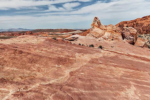 Empty Desert Landscape by Evgeniya Lystsova