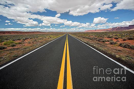 Empty Highway by Martin Konopacki
