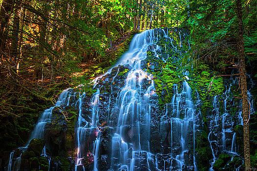 Enchanting Ramona Falls by Dee Browning