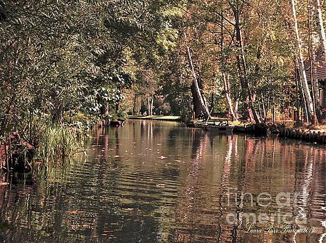 Enchanting Spreewald, Germany Canal by Laura Birr Brown