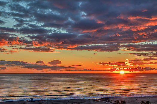 End Of Day Light Show by Gene Parks