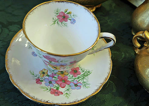 English China Teacup by Connie Fox