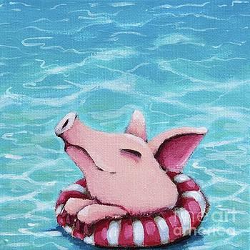 Enjoying the water by Lucia Stewart