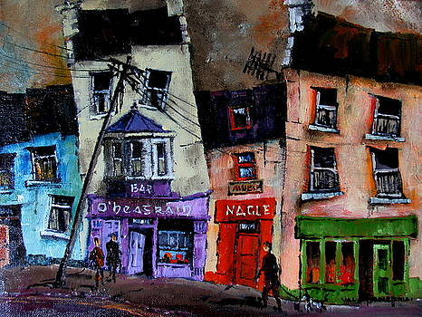 Val Byrne - Ennistymon Pubscape, Co. Clare