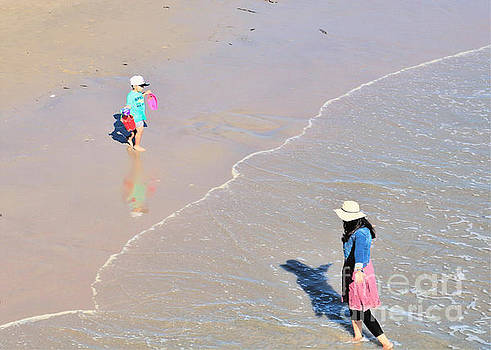 Diann Fisher - Entering And Exiting The Beach