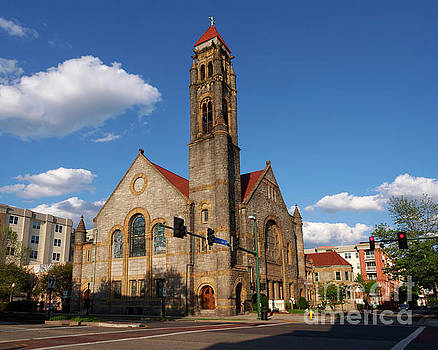 Epworth United Methodist Church in Norfolk Virginia by Louise Heusinkveld