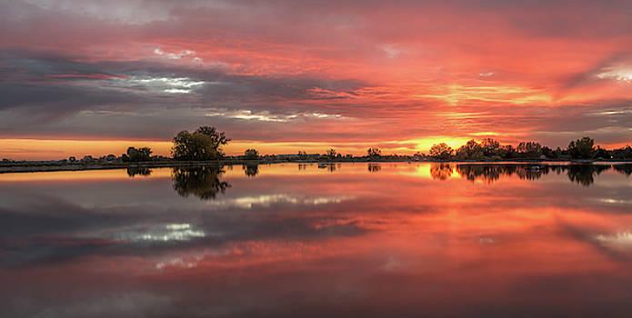 Erie Reservoir Sunrise by Michael Putthoff