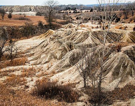 Erosion Of Kansas by Steve Marler
