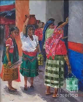 Esperando el Nixtamal by Lilibeth Andre