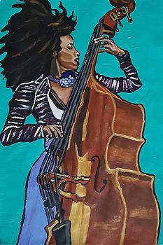 Esperanza Spalding by Rachel Natalie Rawlins