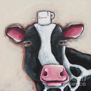 Espresso Cow by Lucia Stewart