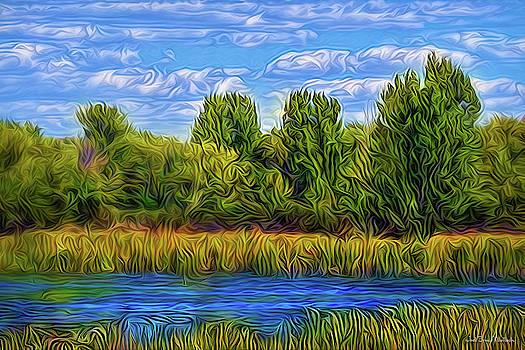 Eternal River Afternoon by Joel Bruce Wallach