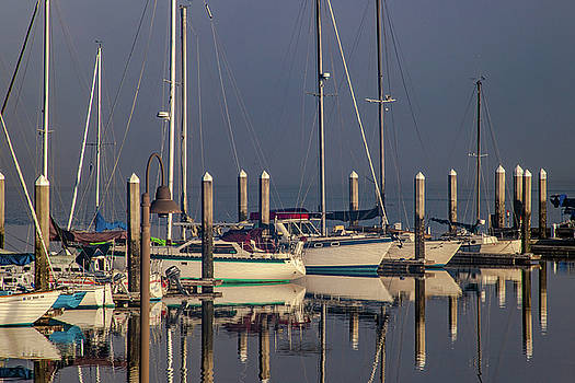 Eureka Boat Reflections by Bill Gallagher