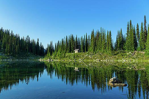 Eva Lake Cabin by Dave Matchett