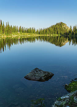 Eva Lake Mirror by Dave Matchett