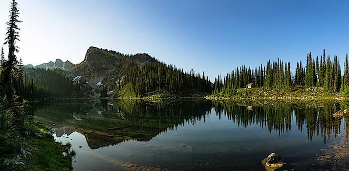 Eva Lake Panorama by Dave Matchett