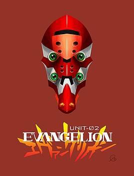 Andrea Gatti - Eva02 Head Logo