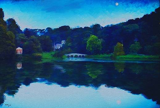 Evening at Stourhead by Mark Miller
