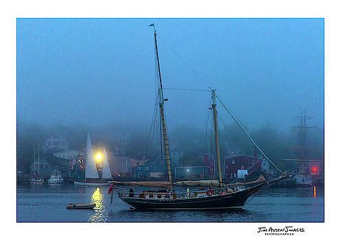 Evening in Lunenburg Harbor by Jim Austin Jimages