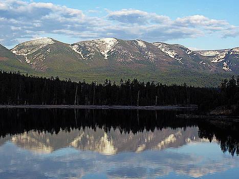 Susan Burger - Evening on Flathead Lake